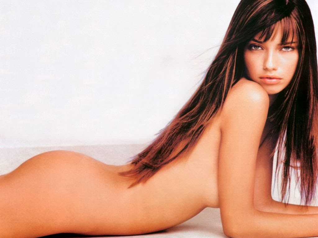 Almost victoria secret adriana lima naked seems