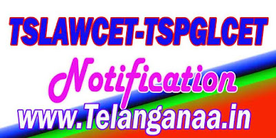 TS Telangana TSLAWCET-TSPGLCET 2018 Notification Download