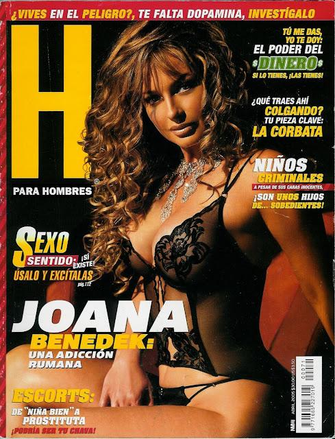 Fotos Joana Benedek Revista H Abril 2005