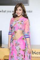 Angela Krislinzki Rogue Movie Fame Telugu Actress in Saree Backless Choli 053.JPG