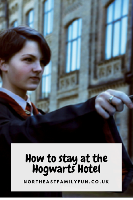 How to stay at the Harry Potter Hotel #Hogwarts #HarryPotter #Hotel