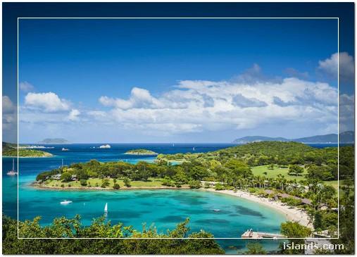 Caribbean islands (St. Thomas, St. John and St. Croix)