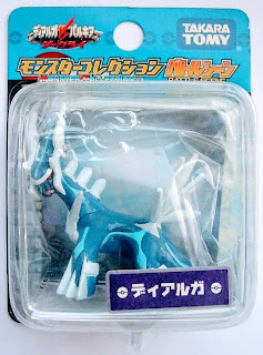Dialga figure Takara Tomy Monster Collection Battle Scene series