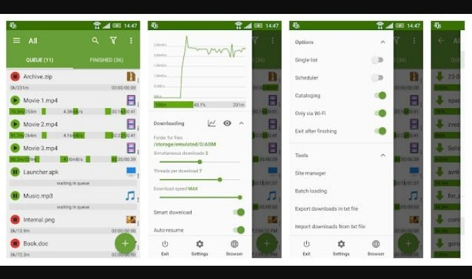 Aplikasi Download Manager Android - Advanced Download Manager