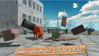 تحميل لعبة ثور هائج مصارع الثيران Crazy Bull Simulator 3D Apk مجاناً