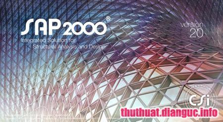 Download SAP2000 Ultimate v20.2.0 Full Cr@ck – Phần mềm cấu trúc đồ họa chuyên nghiệp