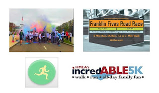 Several 5K walk/runs scheduled for Franklin this May