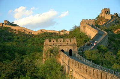 Tembok Besar Cina, salah satu hasil kebudayaan Sungai Kuning