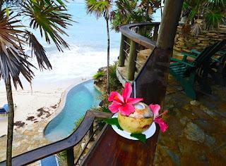 bliss beach, the black iguana, beach bar, nature trails, zen path, chillout stations, views, nude beach, naturism, naturist week, plunge pool,