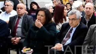 Ατάραχη η Καφαντάρη: Της φώναζαν να φύγει κι εκείνη έτρωγε βασιλόπιτα!