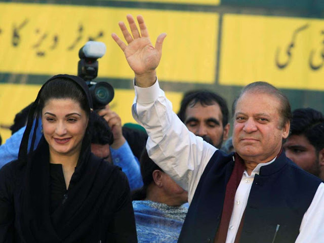 Pakistan :: Sharif and daughter freed from jail