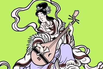 弁財天の琵琶