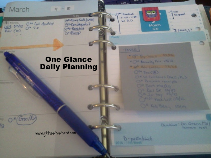 daily docket, planner, weekly planning