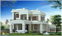 Kerala Contemporary House Style