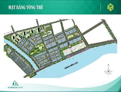 Mặt bằng tổng thể dự án Harbor City