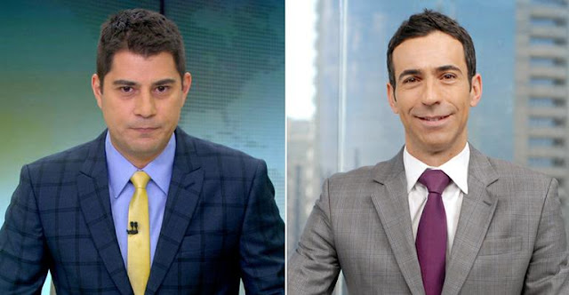 César Tralli assume lugar de Evaristo Costa na Globo