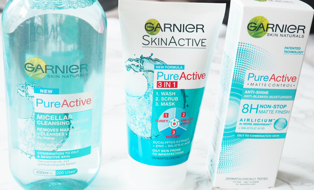 Garnier Pure Active Mattifying Skincare Laura Hadley A