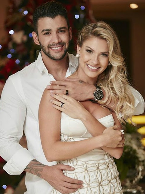 Vestido de noiva Andressa Suita, foto casal