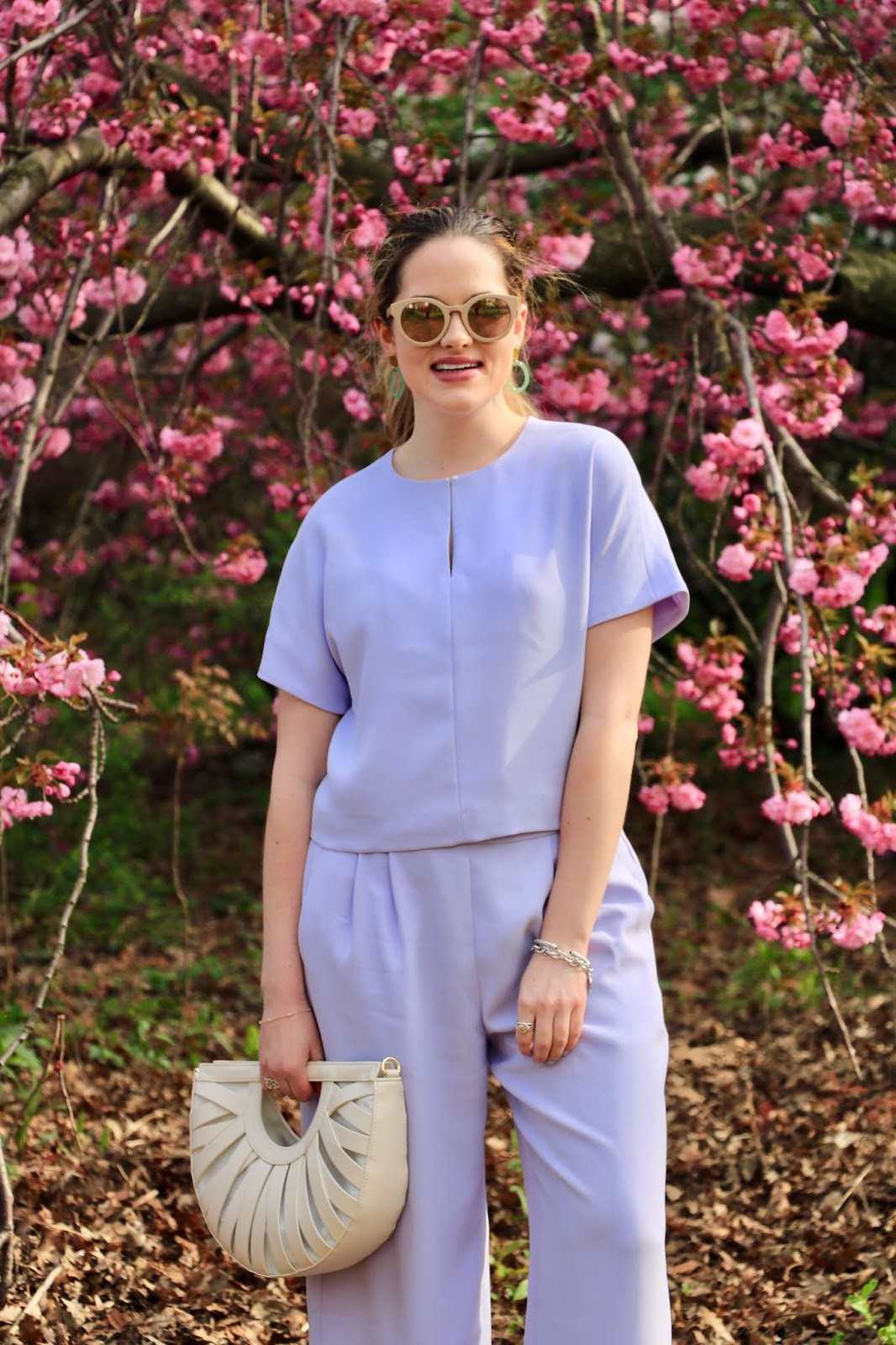 Nyc fashion blogger Kathleen Harper's 2019 cherry blossom pics