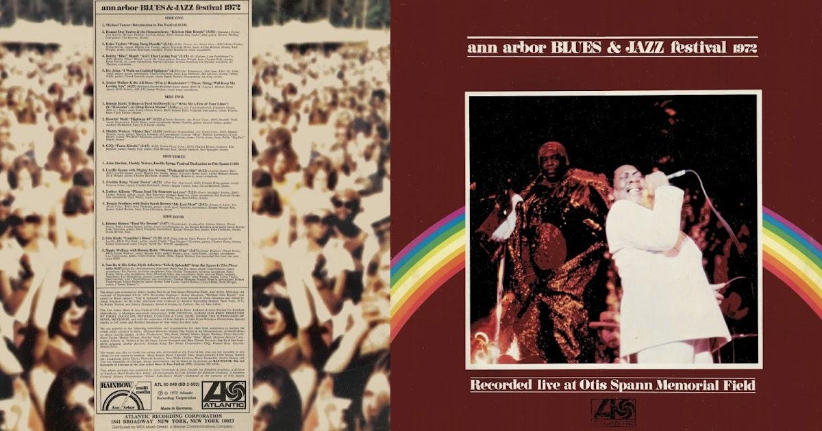 Schnickschnack Mixmax Ann Arbor Blues Amp Jazz Festival 1972