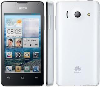 Harga Huawei Ascend Y300 Terbaru, Didukung Kamera 5 MP LED Flash