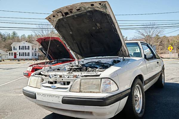 Daily Turismo: Thunder-Stang: 1989 Ford Mustang 3.8 SC