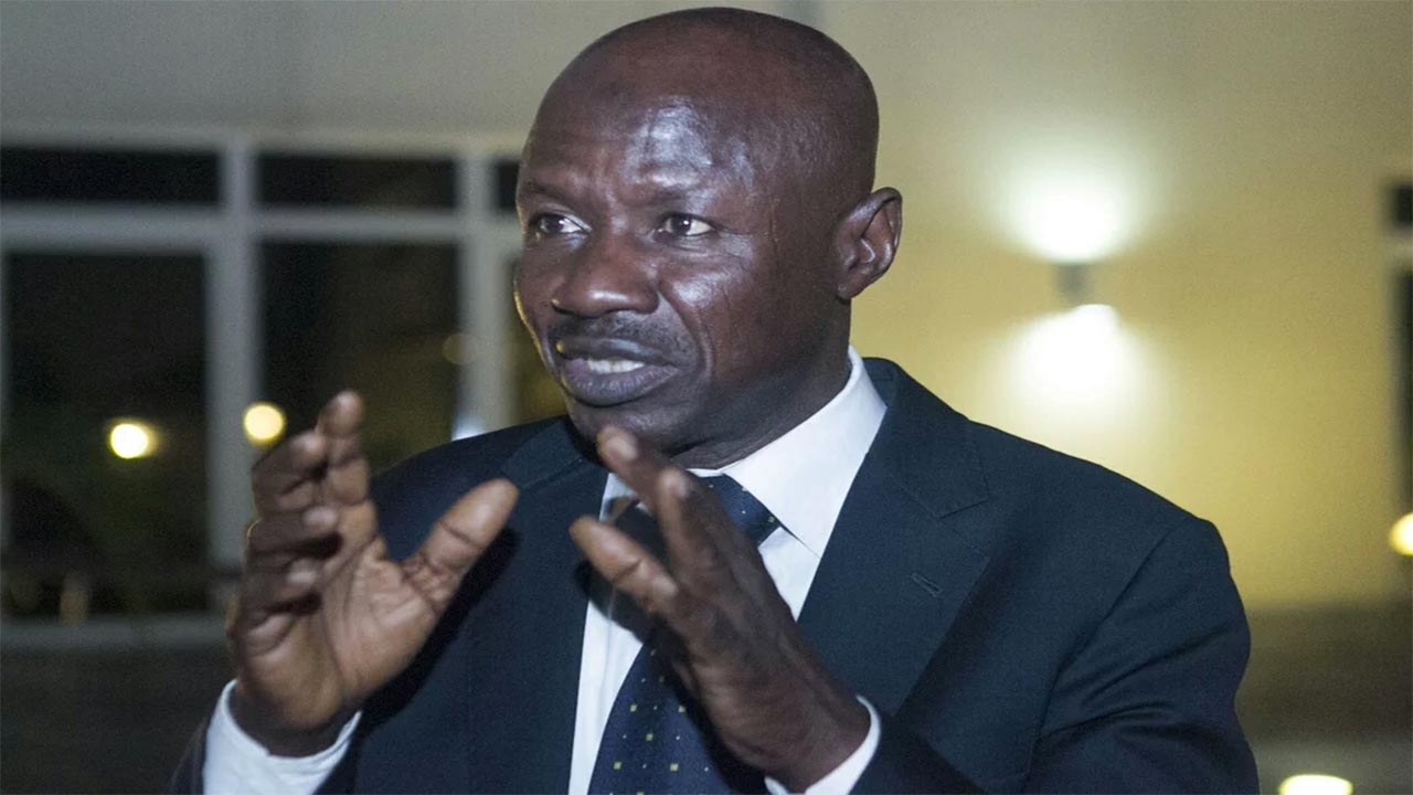 Buhari Removes Ibrahim Magu As EFCC BOSS