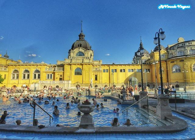 banho termal em budapeste