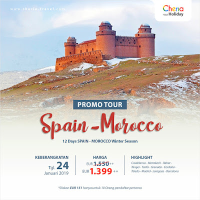 Promo Spain Morocco Winter Season 2019