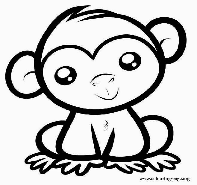 coloring picture of a monkey free printable monkey coloring pages with spider monkey coloring pages