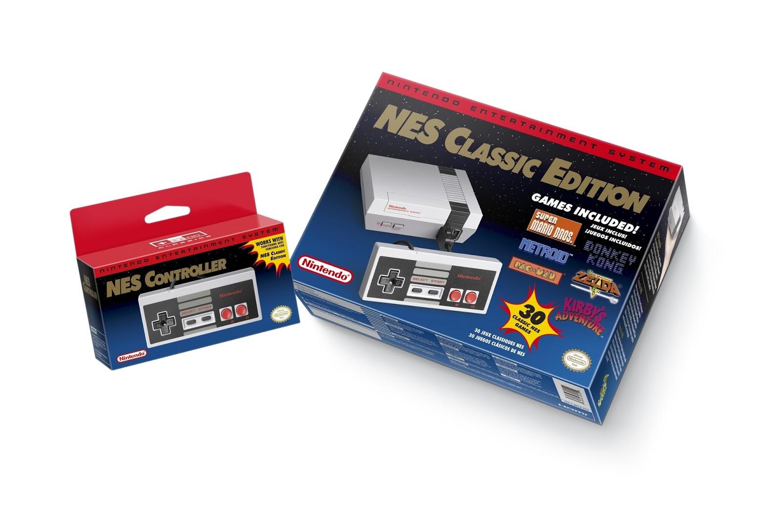 Nerdly Pleasures: NES Classic Edition/NES Mini - Nintendo's