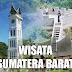 kota destinasi tempat wisata terbaik populer terkenal di sumatera barat