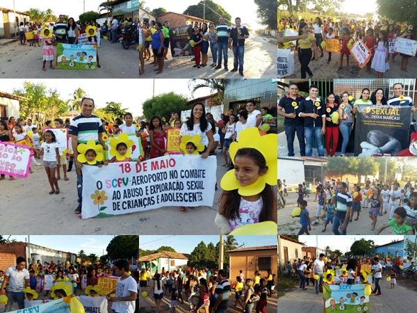 18 DE MAIO: CAMINHADA MARCA DIA NACIONAL DE COMBATE AO ABUSO E A EXPLORAÇÃO SEXUAL CONTRA CRIANÇAS E ADOLESCENTES EM ANAPURUS