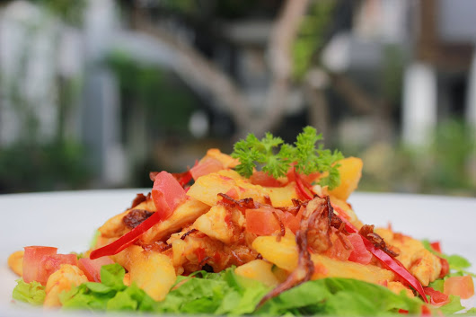 Ayam Pelalah, Balinese Seared Chicken Chilli Sauce