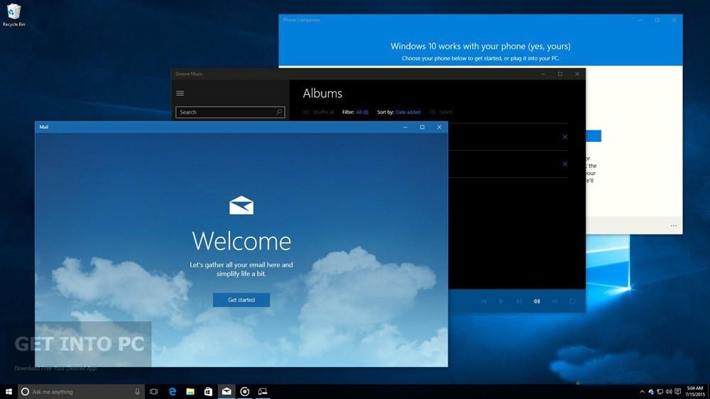 free download windows 10 pro 64 bit iso