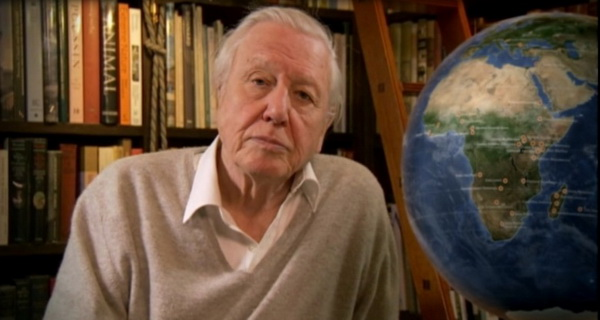 ce sustine david attenborough