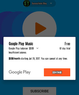 Google Play Music Offering 61-Day Free Subscription to New Subscribers