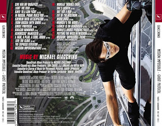 Mission Impossible Ghost Protocol liedje- Mission Impossible Ghost Protocol Muziek - Mission Impossible Ghost Protocol Soundtrack