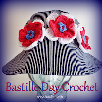 free crochet patterns, how to crochet, flowers, headband, necktie,neck scarf,