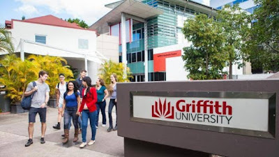 International student A level scholarship 2018 At Griffith University, Australia