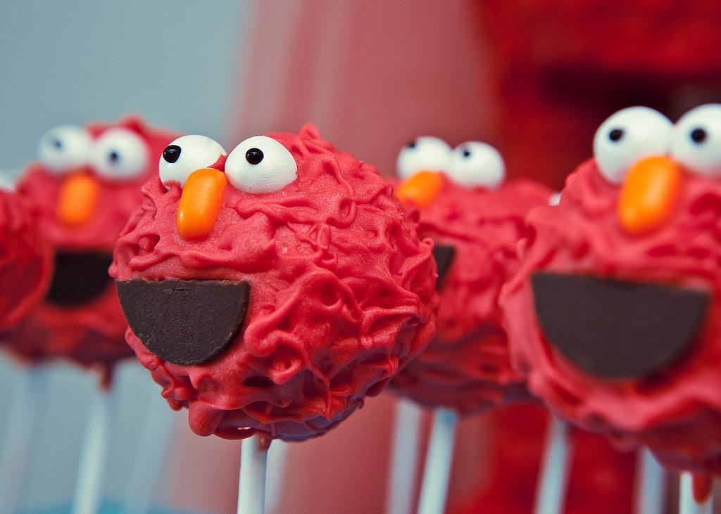 Diy Sesame Street Cake Pops