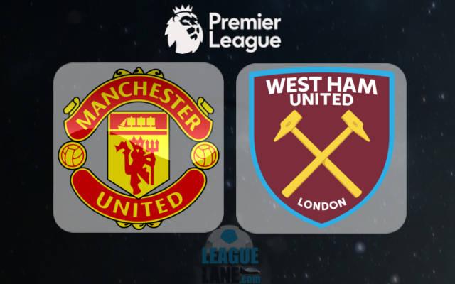 Manchester United Vs West Ham United Premier League