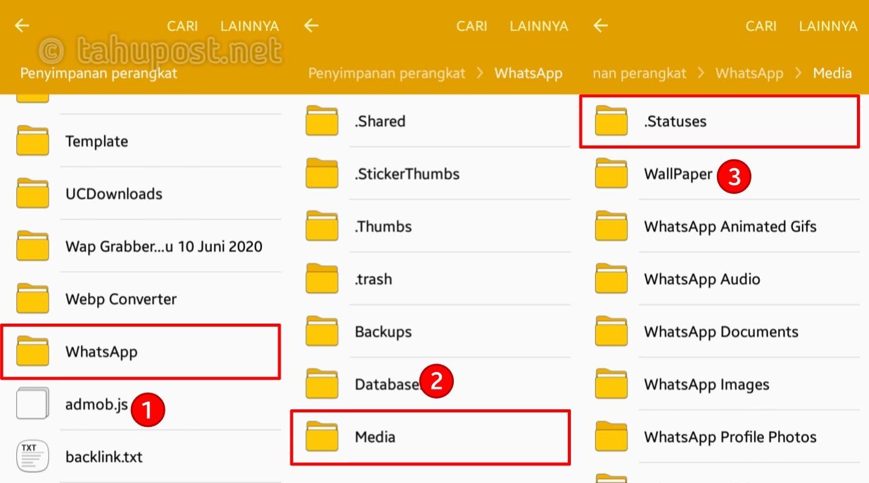 Cara Save Story WA Tanpa Aplikasi