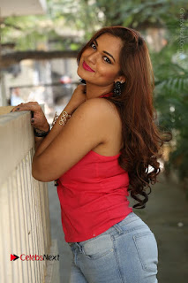 Tollywood Actress Ashwini Latest Stills in Ripped Jeans  0124.JPG