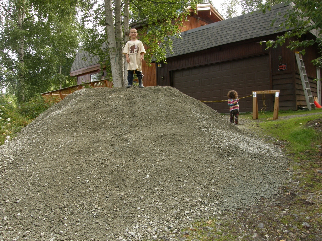An Alaskan Family with a Yurt: Gravel Pads and Permits