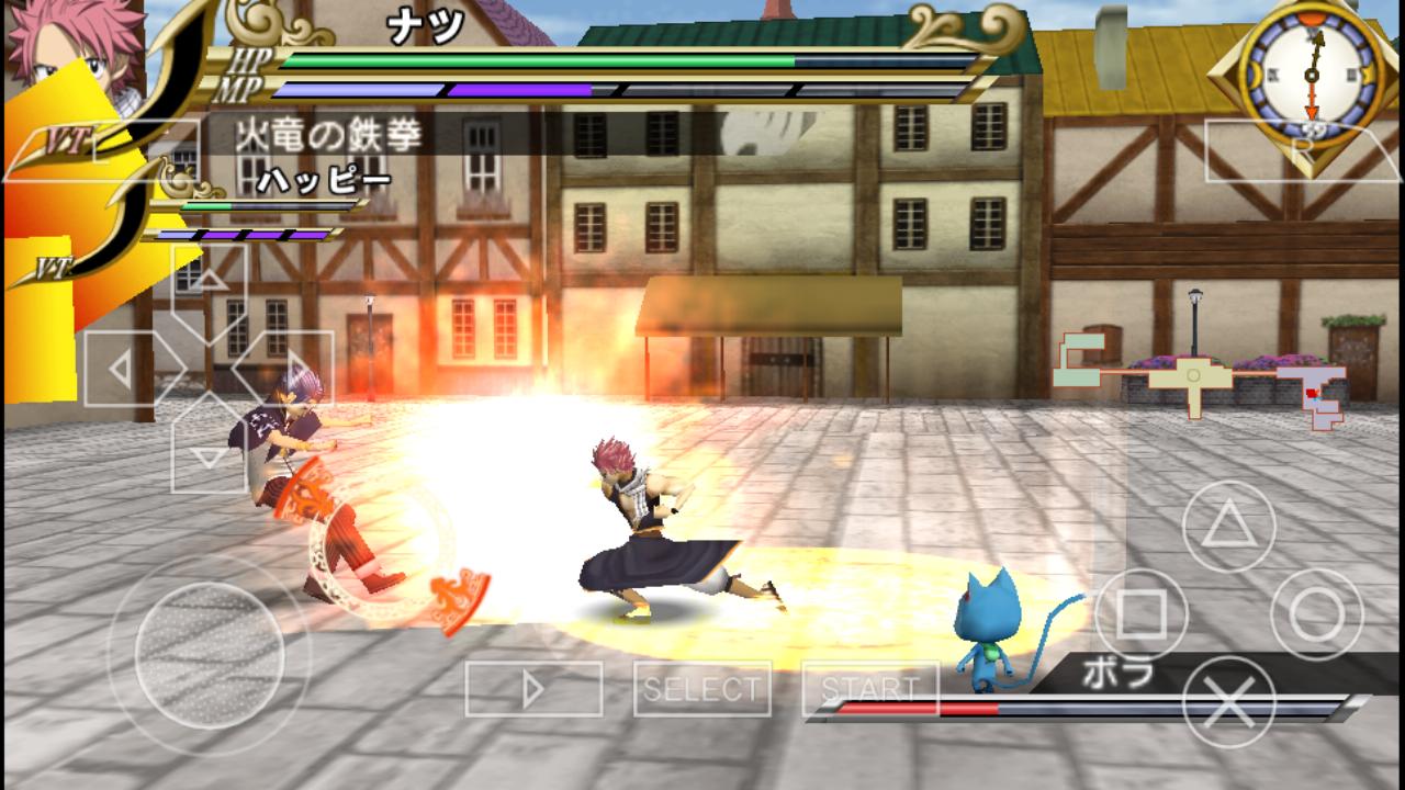 Fairy Tail - Zelef Kakusei (Japan) ISO < PSP ISOs ...