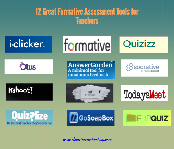 12 Great Formative Assessment Tools for Teachers ~ Educational ...