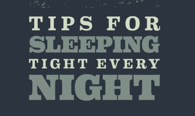 Image: Tips for Sleeping Tight Every Night [Infographic]