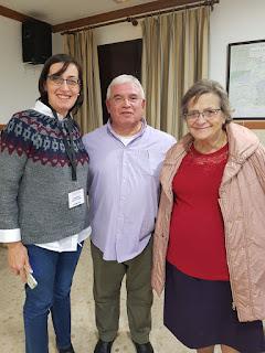 Nuestras hermanas junto a Fray Antonio María Moreno OSM