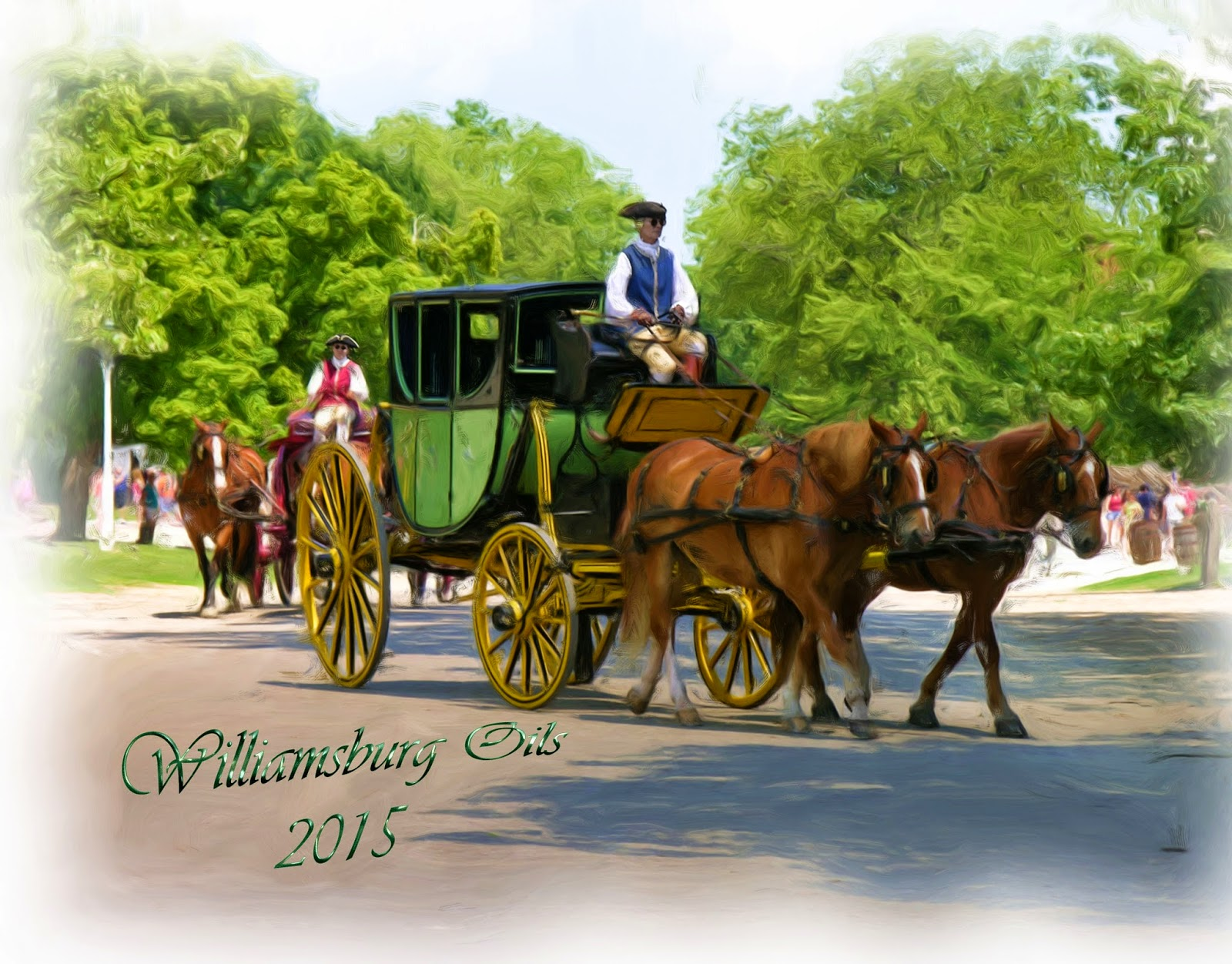 Williamsburg Oils 2015 Calendar